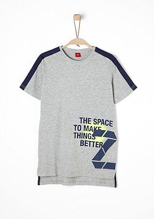 Sportives Longshirt mit Print