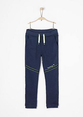 Jogging Pants mit Neon