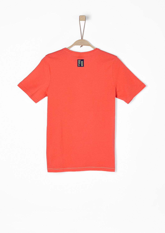 s.Oliver - Jerseyshirt mit Neon-Print - 2