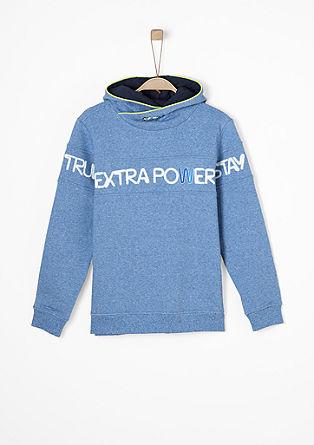 Sportiver Sweater mit Kapuze