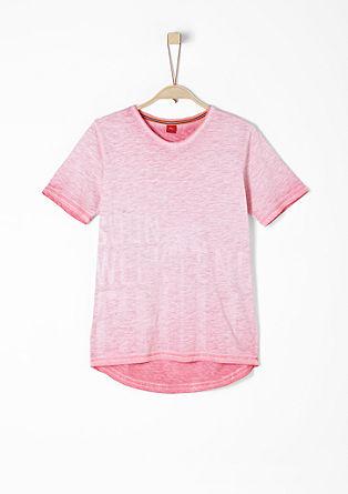 T-Shirt in Sunfaded-Optik