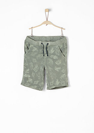 Shorts with a printed pattern from s.Oliver
