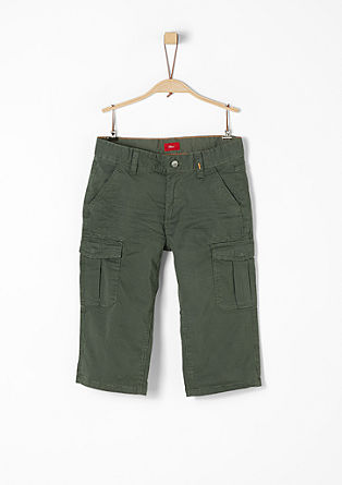 Seattle: patterned twill Bermudas from s.Oliver