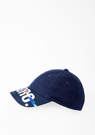 Baseball cap with lettering from s.Oliver