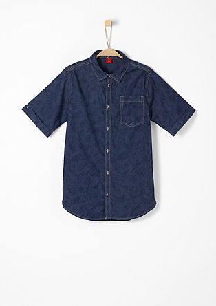 Luchtig denim shirt