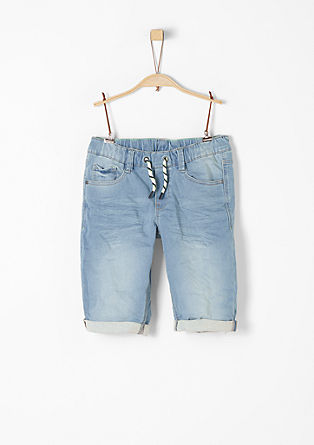 Seattle: Denim Jogger-Bermuda