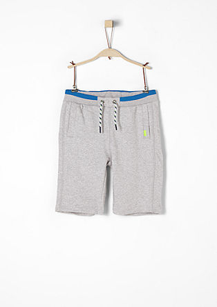 Sweatshirt Bermuda shorts with colour accents from s.Oliver