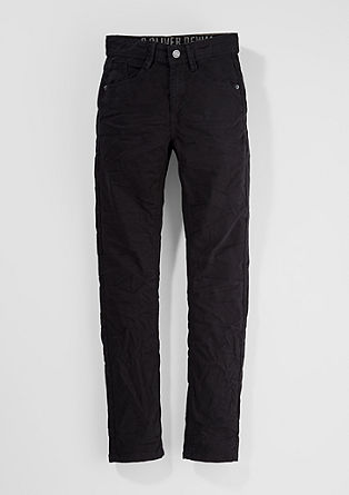 Skinny Seattle: Clean twill trousers from s.Oliver