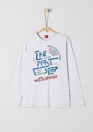 T-shirt en jersey à imprimé vintage de s.Oliver