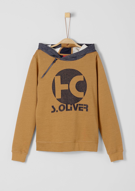 s.Oliver - Hoodie mit Reißverschluss - 1