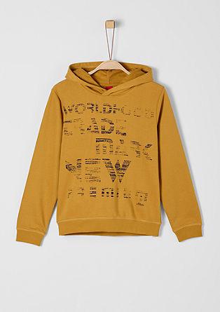 Kapuzensweater mit Print
