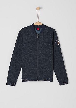 Sweatshirt bomber jacket from s.Oliver