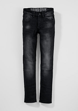 Skinny seattle: dark denim jeans