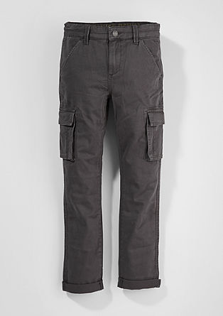Cotton cargo trousers from s.Oliver