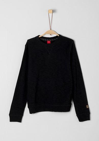 Sweatshirt aus Slub Yarn