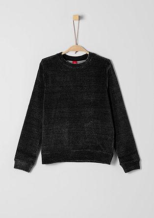Casual sweatshirt van nicky velours