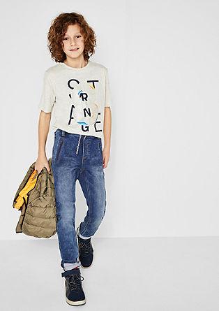 Joggstyle: športne jeans hlače