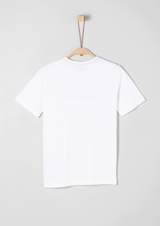 s.Oliver - T-shirt en jersey animé d'une inscription 3D - 2