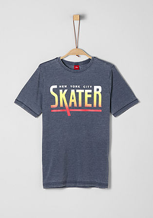 Casual shirt in een skaterlook