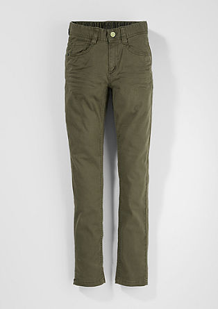 Skinny Seattle: cloth trousers from s.Oliver