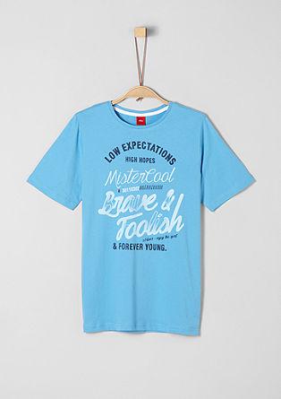 Jerseyshirt mit Schrift-Print