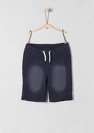 Bermuda hlače v jogging slogu