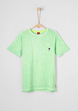 Slubyarn-Shirt mit Wascheffekt