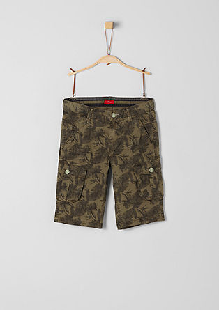 Seattle: Cargo-style Bermudas from s.Oliver