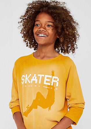 Skater-Shirt in Fade Out-Optik