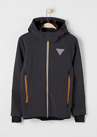 Lined soft shell jacket from s.Oliver