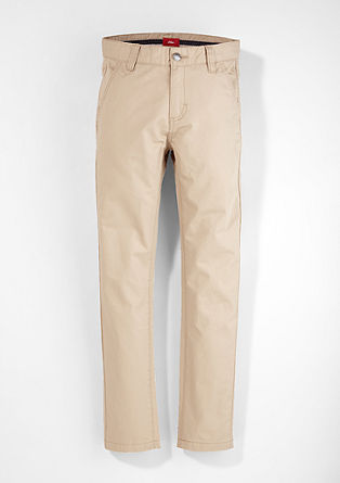 Chinos: Elegant cotton trousers from s.Oliver