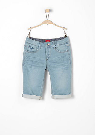 Seattle: jogger style denim bermuda