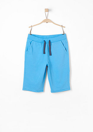 Cotton jersey shorts from s.Oliver
