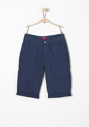 Benno: lightweight cotton Bermudas from s.Oliver