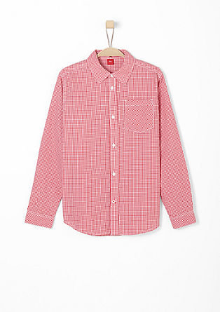 Gingham check shirt from s.Oliver