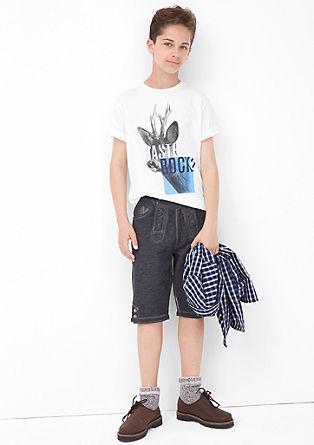 Majica iz džersija s potiskom