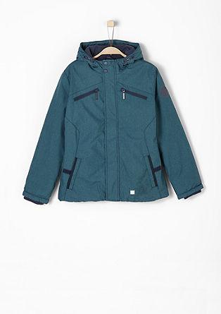 Warme Melange-Jacke