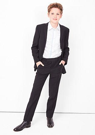 Slim: Festliches Baumwoll-Hemd