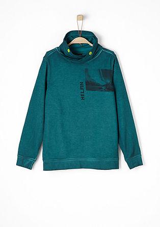 Pigment Dye-Sweatshirt