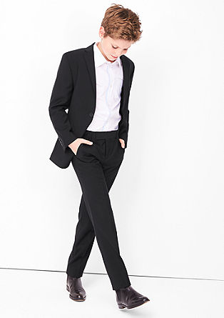 Slim: Anzughose aus Schurwolle