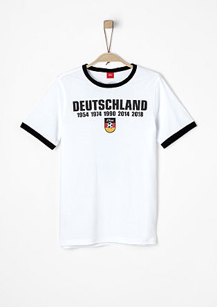 Jerseyshirt mit Soccer-Print