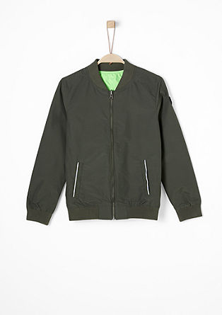 Reversible bomber jacket from s.Oliver