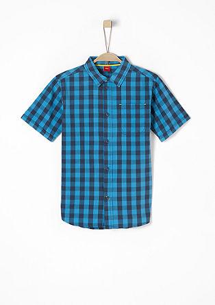 Hemd im Vichy-Design