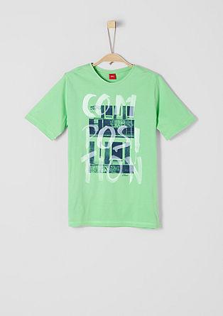 T-Shirt mit Graffiti-Motiv