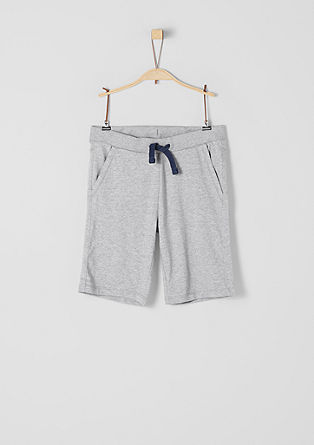Cotton jersey Bermudas from s.Oliver