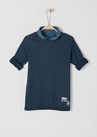 Langarmshirt mit Turtleneck
