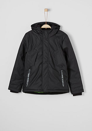 Coated winter jacket from s.Oliver