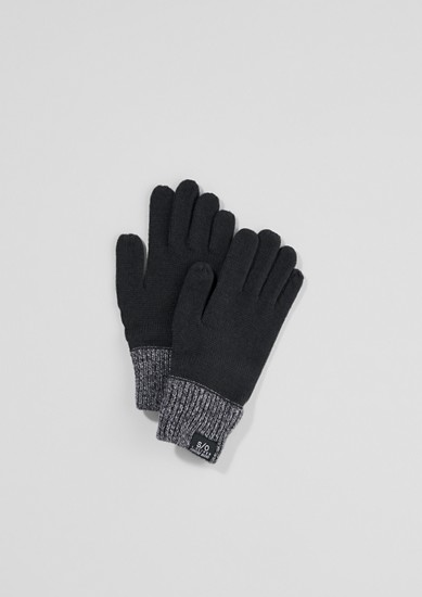 Handschoenen van een breisel