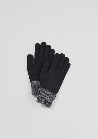 Knit gloves from s.Oliver