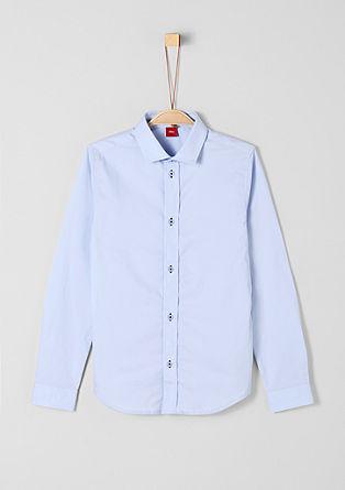 Slim: Elegantes Langarmhemd